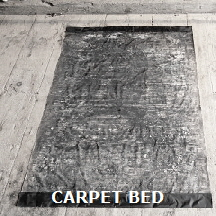 Carpet bed